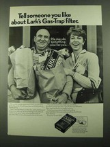 1969 Lark Cigarettes Ad - Tell Someone You Like About - Groceries - $14.99