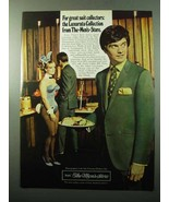 1969 Sears Luxurata Suits Ad - Great Suit Collectors - $14.99
