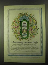 1974 Clairol Herbal Essence Shampoo Ad - Our New Baby - $14.99