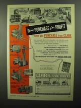 1950 Clark Ad - Lift Truck, Yardlift-60, Clarkette-5 - $14.99