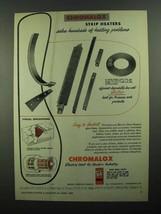 1950 Chromalox Strip Heaters Ad - Solve Problems - $14.99