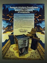 1981 Panasonic SoundScapes P-9 Stereo System Ad - $14.99