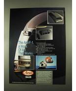 1987 Arai F-1 Helmet Ad - A Work of Art that Works - $14.99