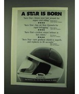 1987 Bell Helmets Ad - A Star is Born - $14.99