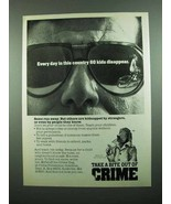 1989 Crime Prevention Ad - McGruff the Crime Dog - $14.99
