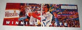 1989 Winston Cigarettes Ad - Taste - $14.99