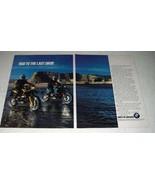 1991 BMW R100GS and R100GS Paris-Dakar Motorcycles Ad - $14.99