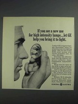 1968 General Electric EJM Projection Lamp Ad - $14.99