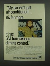 1968 GM Four-Season Climate Control Ad - My Car - $14.99