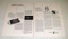 1968 Hewlett-Packard 9100A Computer Ad - A Mesure - $14.99