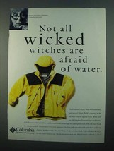 1996 Columbia Hunstein Parka Ad - Not Wicked Witches - $14.99