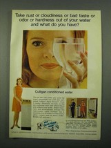 1969 Culligan Water Conditioner Ad - Rust or Cloudiness - $14.99