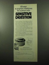1969 Cream of Rice Cereal Ad - Sensitive Digestion - $14.99