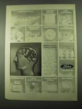 1969 Ford Motor Company Ad - We'll Teach Anyone - $14.99