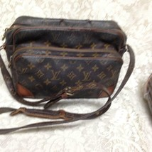 Authentic Louis Vuitton Brown Mono Nile Crossbody 11inx8inx4.5in - $284.95