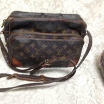 Authentic Louis Vuitton Brown Mono Nile Crossbody 11inx8inx4.5in - $284.95