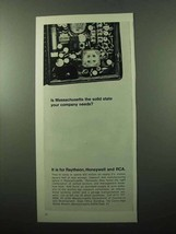 1969 Massachusetts Commerce & Development Ad - Solid - $14.99