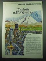 1969 Phelps Dodge Copper & Alluminum Ad - Seattle - $14.99