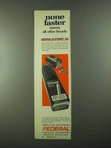1974 Federal Hi-Power 22 Cartridges Ad - None Faster - $14.99