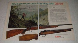 1974 Garcia Sako 74 Super Sporter & Deluxe Sporter Ad - $14.99