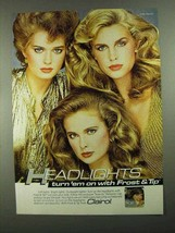 1981 Clairol Frost & Tip Frosting Kit Ad - Headlights - $14.99