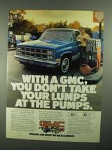 1981 GMC Super Saver Pickup Ad - Don't Take Lumps - $14.99