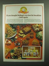 1981 Kellogg's Cereal Ad - Thought Just for Breakfast - $14.99