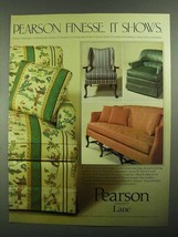 1981 Lane Pearson Furniture Ad - Finesse. It shows - $14.99