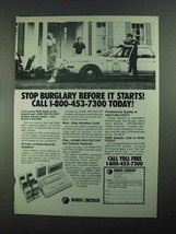 1988 Black & Decker Home Protector Wireless Security Ad - $14.99