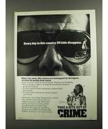 1988 Crime Prevention Ad - McGruff the Crime Dog - $14.99