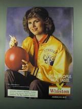 1988 Winston Cigarettes Ad - $14.99