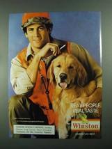1988 Winston Cigarettes Ad - Real People - $14.99