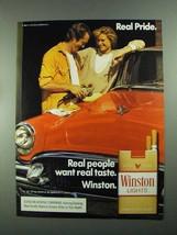 1988 Winston Cigarettes Ad - Real Pride - $14.99