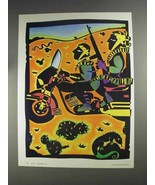1991 David Diaz Illustration - $14.99