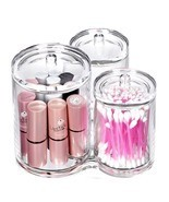 Organizer Cotton Ball Swab Holder, Acrylic Cani... - $35.88