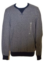 American Rag Two-Tone Crew-Neck Sweater Deep Royale (Choose Size) - $13.82
