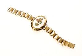 Antique Book Chain Bracelet Romantic Feminine Vintage Jewelry - $195.00