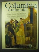 1920 Columbia Grafonola Ad - Dance Till The Last Note - $14.99