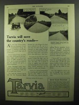 1920 Barrett Tarvia Ad - Save The Country's Roads - $14.99