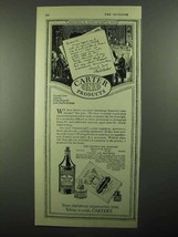 1920 Carter's Ink Company Ad - Charles Dickens - $14.99