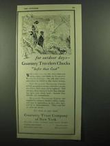 1920 Guaranty Trust Company of New York Ad - Outdoor - $14.99