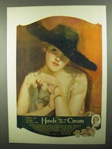 1920 Hind's Honey and Almond Cream Ad - Protect - $14.99