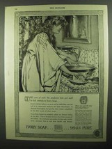 1920 Ivory Soap Ad - Even the Tenderest Skin - $14.99