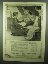 1920 Ivory Soap Ad - The Boarding School Trunk - $14.99