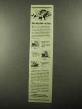 1922 White Star Line Ad - The Magnificent Trio - $14.99