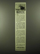 1922 White Star Line Ad - Majestic World's Largest Ship - $14.99
