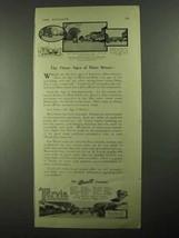 1923 Barrett Tarvia Ad - The Three Ages of Main Street - $14.99