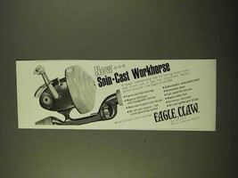 1970 Eagle Claw 88B Fishing Reel Ad - Spin-Cast - $14.99