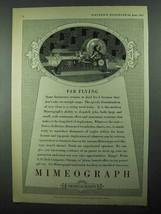 1931 A.B. Dick Mimeograph Ad - Far Flying - $14.99