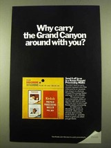 1970 Kodak Prepaid Processing Mailer Ad - Why Carry - $14.99